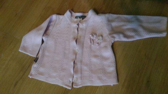Sweterek rozpinany jak nowy, rozmiar 74