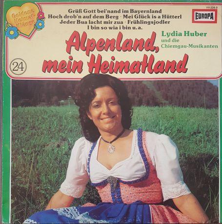 Płyta winylowa: Alpenland, mein Heimatland - Lydia Huber und die...