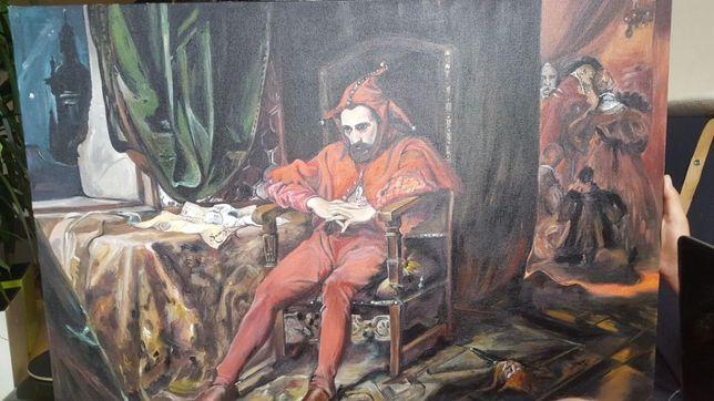 Obraz ręcznie malowany STAŃCZYK promocja