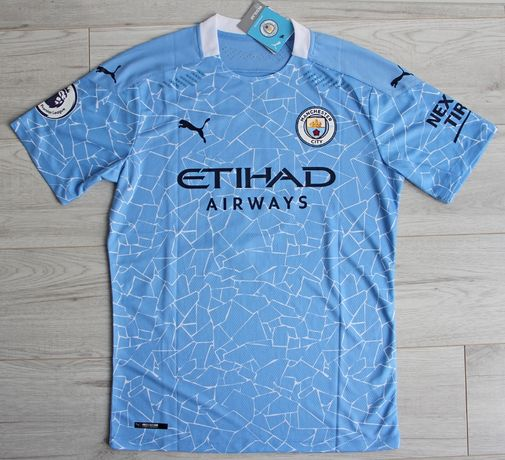MANCHESTER CITY PUMA Authentic Home 20/21, #9 G.JESUS, roz. XL