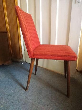 Krzesła PRL, do renowacji, 4 szt., meble prl