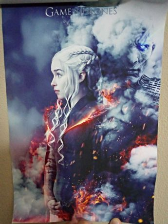 Guerra dos Tronos (Poster Raro) (Portes incluídos)