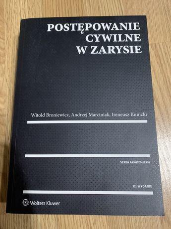 Postępowanie cywilne w zarysie - Broniewicz