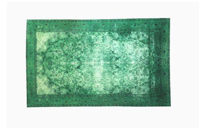 Vintage Carpet Green 230cm * 145 cm