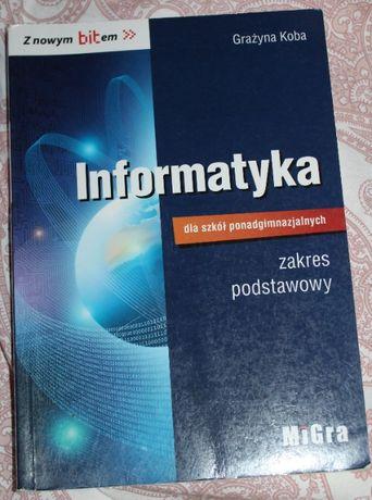 Podręcznik -informatyka dla szkół ponadgimnazjalnych- podstawa