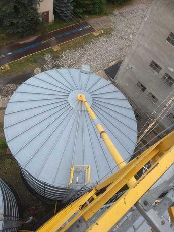 Silosy Zbożowe ARAJ 500 ton ocynk wieża