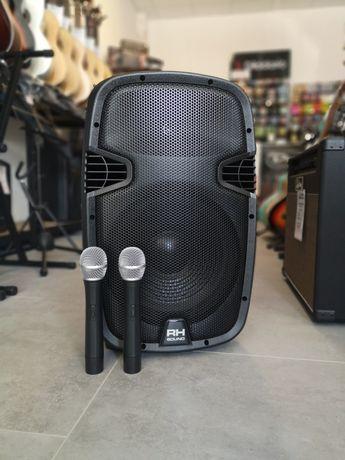 RH Sound Kolumna Mobilna z Mikrofonami i Akumulatorem MP3