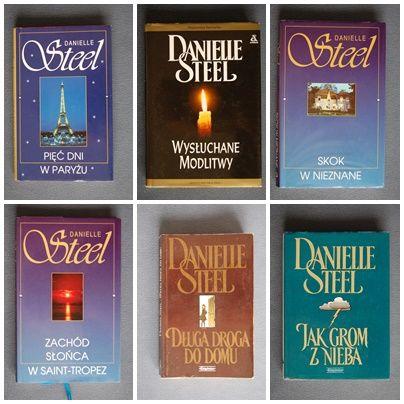 Danielle Eteel 12 książek 10,-zł./szt.