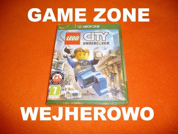 LEGO City Undercover Xbox One + S + X = PŁYTA PL Wejherowo / FOLIA