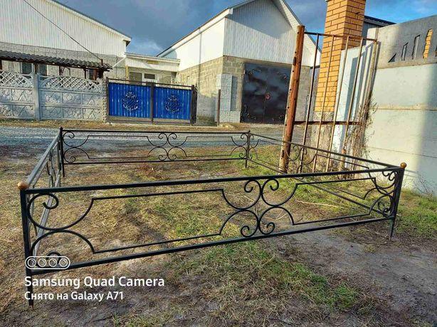 Оградка 2.35м×2.45м. ЦЕНА -3300 грн.