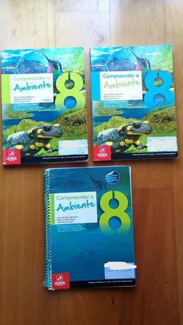 Compreender o Ambiente 8 Manuais + caderno
