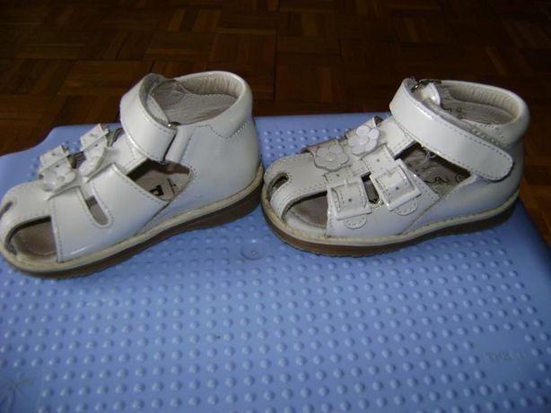 Sandałki piękne dla dziewczynki Picco rozmiar 23, stan idealny
