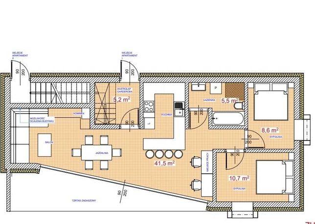 Mieszkania-apartamenty-Nowy Targ-parter-miejsce postojowe- ogród 130m2