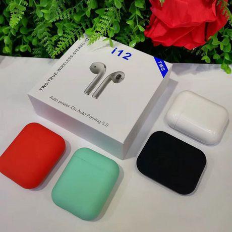 Беспроводные наушники i12 TWS (Pop Up) Интернет-магазин