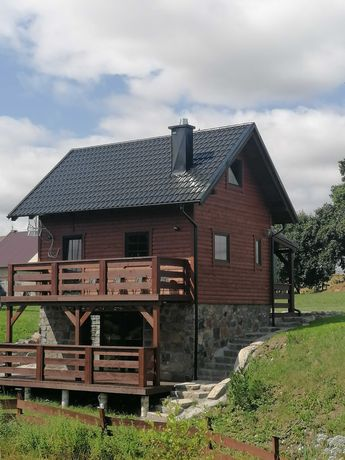 Domek na Wzgórzu - 7-osobowy całoroczny domek rodzinny na Kaszubach