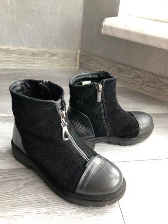 Шкіряні черевики!