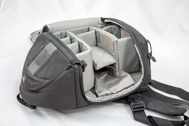 plecak na aparat, fotograficzny Lowepro slingshot 300 aw