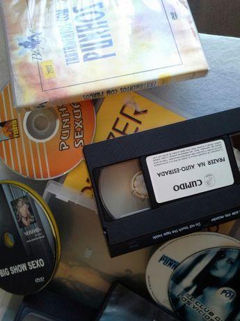DVD's e VHS ( filmes / vídeos )