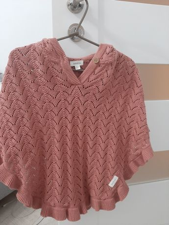 Ponczo sweterek newbie