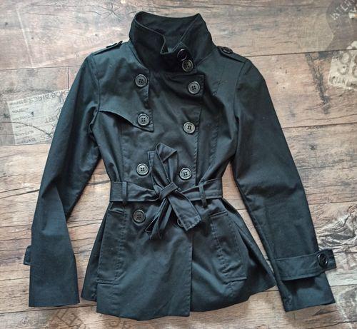Płaszcz wiosenny dwurzędowy
