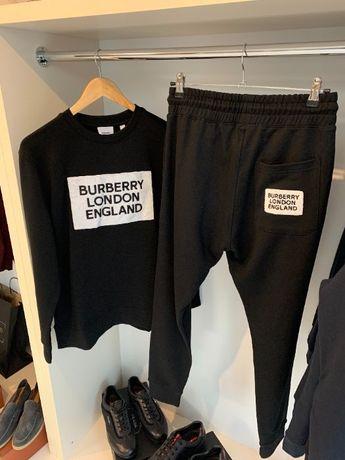 Брендовый мужской спортивный костюм Burberry