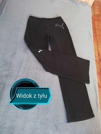 Czarne spodnie dresowe Puma, rozm. S