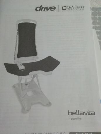 Podnośnik wannowy Bellavita