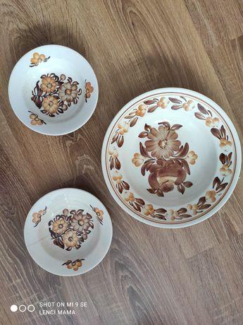 Zestaw porcelanowy PRL
