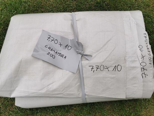 Materiał o gramaturze 200 wymiar 7.7*10 metra oczka dookoła cena 199