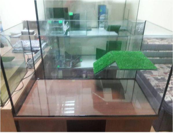 Новый террариум (аквариум) для черепахи : 75см-45см-50см.