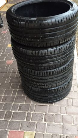 Комплект резины 2018 года Pirelli p zero