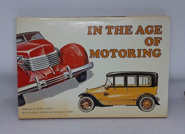 Album 'In the Age of Motoring' z pięknymi rysunkami Pierra Dumonta