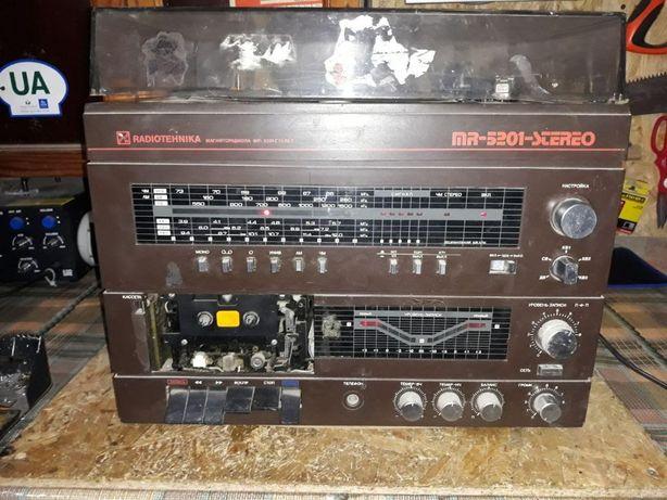 """Магниторадиола """"Радиотехника-МР-5201-стерео"""""""