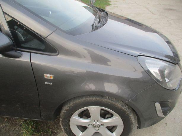 Opel Corsa D Błotnik prawy Z177 Idealny