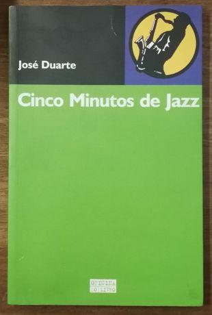 cinco minutos de jazz, josé duarte, oficina do livro