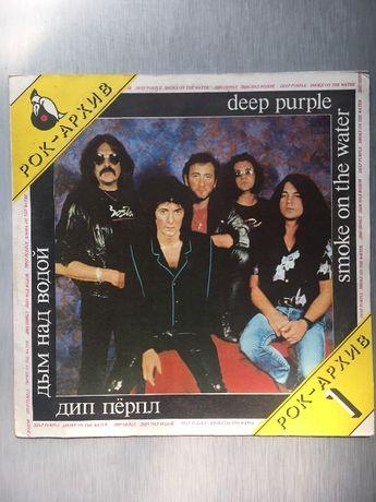 Продам пластинку группы Deep Purple Smoke on the.water Мелодия 1987