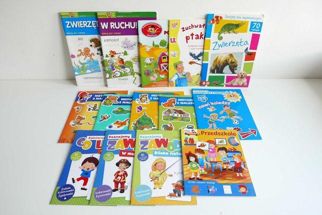 Książeczki , bajki , czytanki , kolorowanki dla dzieci - ZESTAW 10