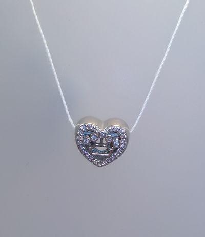 Серебряный шарм, подвеска для браслета Pandora, срібна підвіска