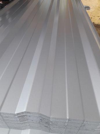 Blacha trapezowa T-18 E Srebrna Ral 9006 gr 0,45 18,90/m2 brutto!!
