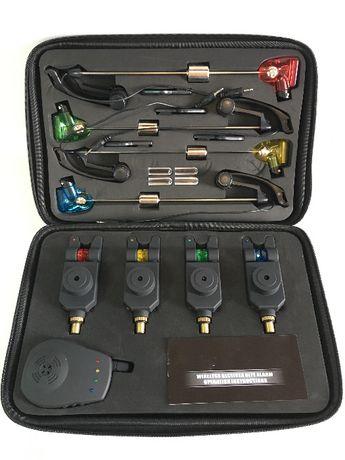 Карповые сигнализаторы поклевки с свингерами Lixada набор 4+1 Оригинал