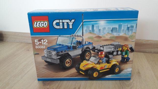 Lego City 60082 Terenówka z przyczepą