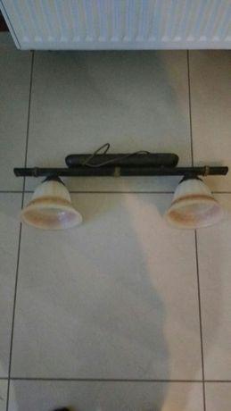 Lampa z dwoma kloszami