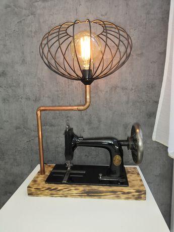 Lampa loft, handmade, industrial