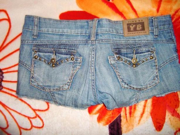 Шорты джинсовые. Стильные! Состояние новых!
