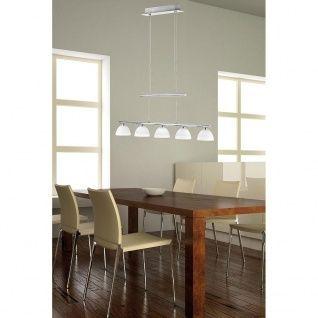 Lampa wisząca zwis nad stół jadalnia LED szkło Paul Neuhaus BORANO