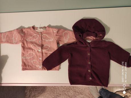 Swetry dla dziewczynki rozmiar 74/80 Lupilu