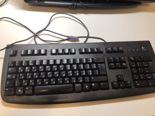 Клавиатуры Logitech Deluxe 250 PS/2 Keyboard (EN/UKR)