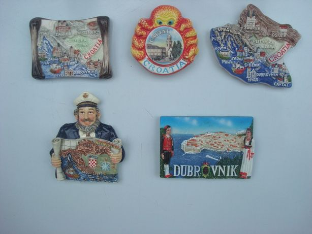 Хорватия Дубровник Цавтат магнитик сувенир на холодильник