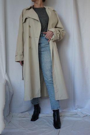 Тренч плащ пальто max mara Massimo Burberry винтаж