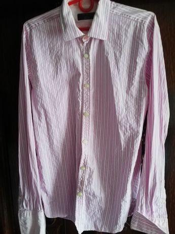 Sprzedam ładną koszulę firmy Ted Baker z mankietami na spinki